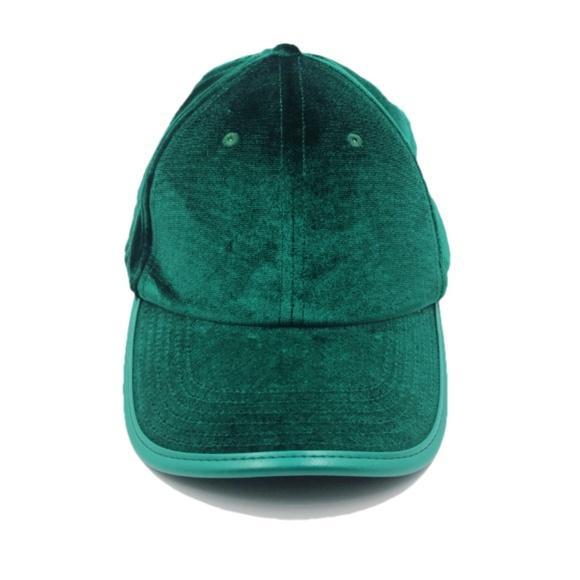 9040f39a Urban Outfitters Accessories   Velvet Emerald Baseball Cap   Poshmark